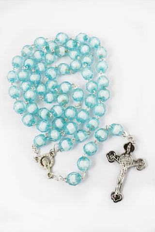 Rosary 107 Plastic Beads -Jefgo.in