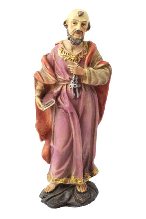Saint Peter statue 6 inch Polymarble -Jefgo.in