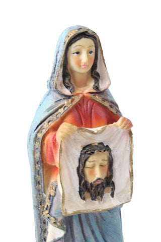 Saint Veronica statue 6 inch Polymarble -Jefgo.in