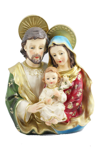 Holy Family Statue 8 inch -Jefgo.in