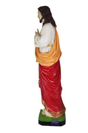 Sacred Heart of Jesus 24 inch Statue 2 -Jefgo.in