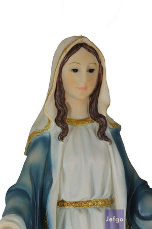 Our Lady Of Lourdes Statue 2 feet4 inch Polymarble -Jefgo.in