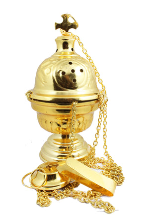 Thurible 107 Brass Sheet made Censer -Jefgo.in