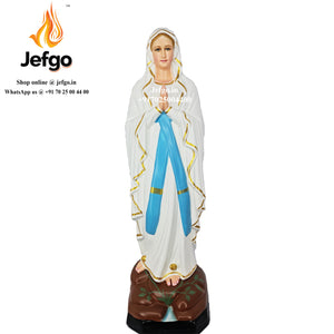 Our Lady of Lourde Statue 48 inch