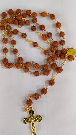 Rosary 137 Wooden Beads -Jefgo.in