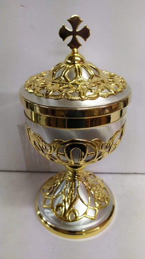 Ciborium Brass Gold 28 Height 11 Inch -Jefgo.in