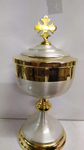 Ciborium Brass Gold 33 Height 13 Inch -Jefgo.in
