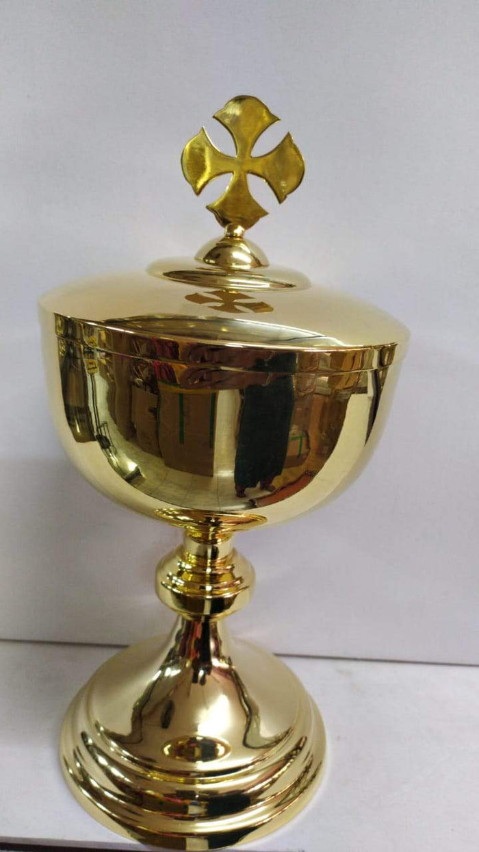 Ciborium Brass Gold 29 Height 11 Inch