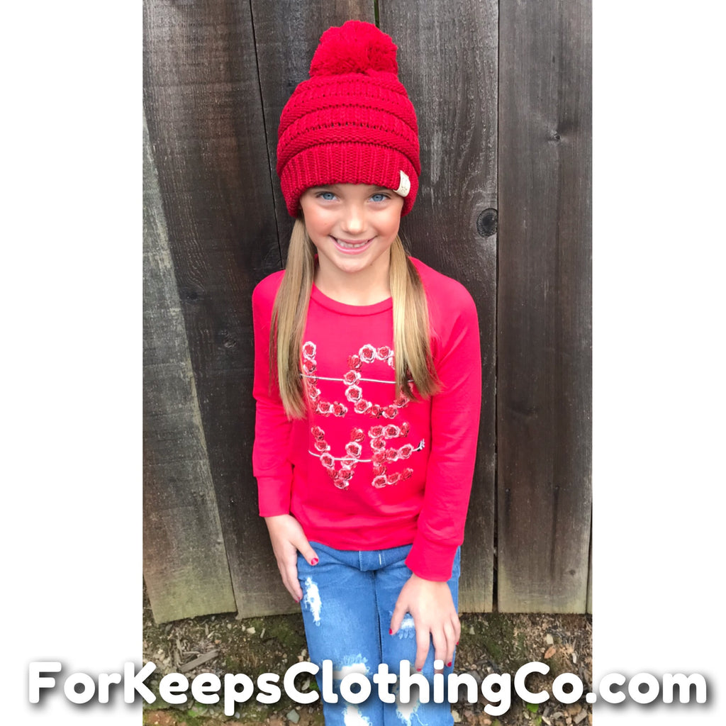 ~ For Keeps Too ~ LOVE pullover