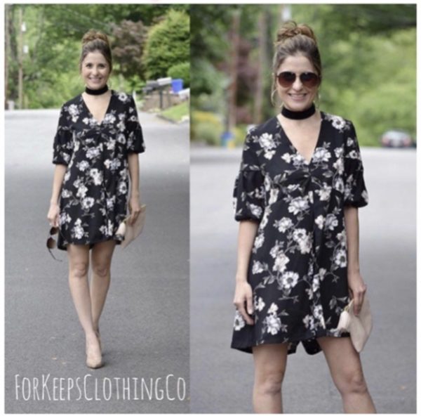 The ISLA floral romper