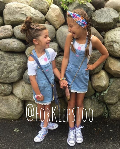~ For Keeps Too ~ Denim Overall Dress