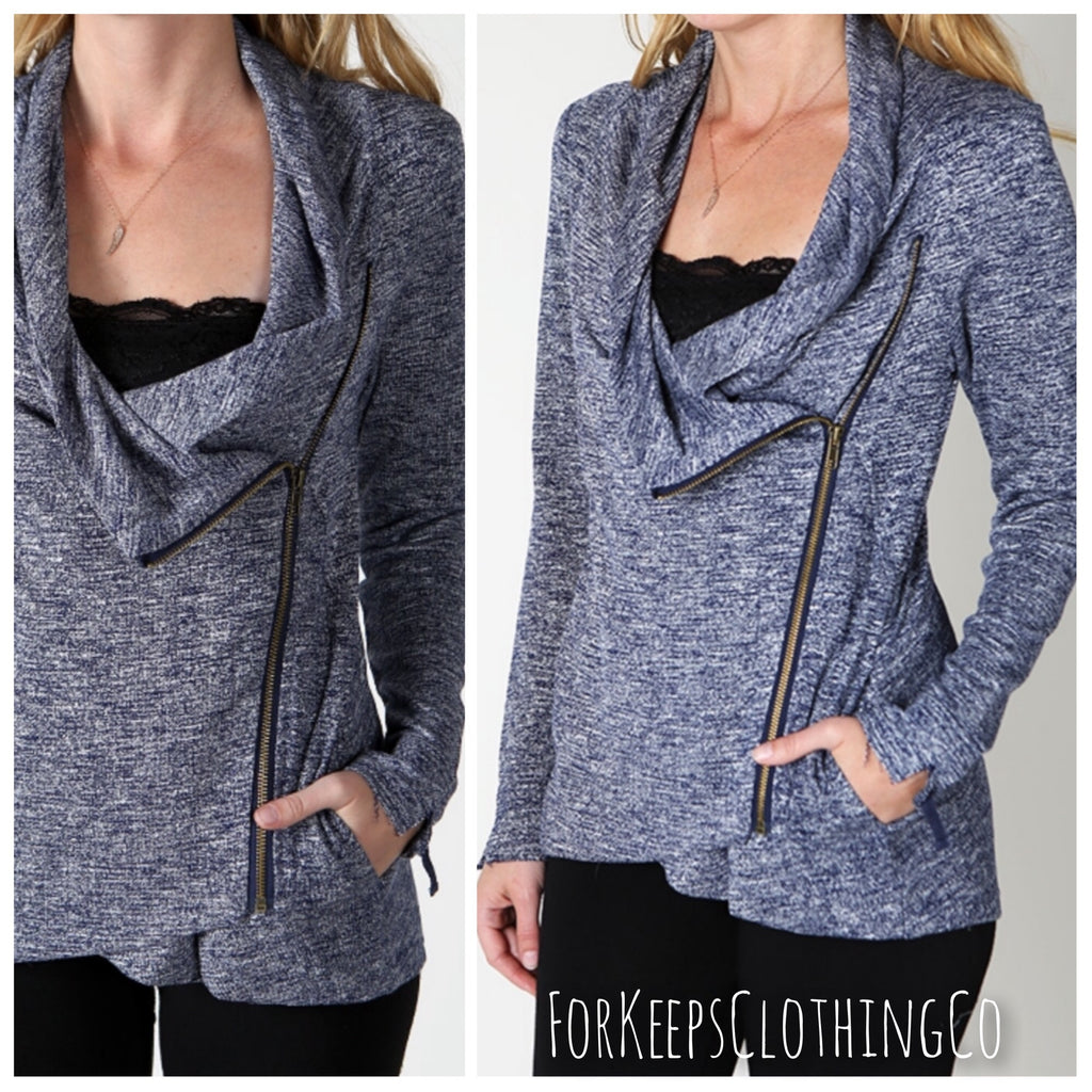 The NATALIE zip up