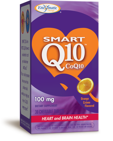 Smart Q10 - CoQ10 Orange Creme Flavored