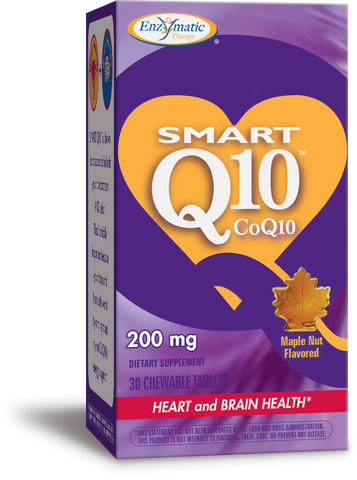 Smart Q10 - CoQ10 Maple Nut Flavored