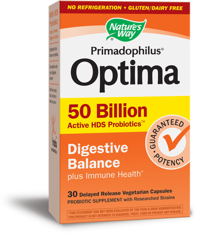 Primadophilus Optima 50 Billion Digestive Balance