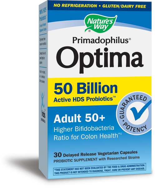 Primadophilus Optima 50 Billion Adult 50+