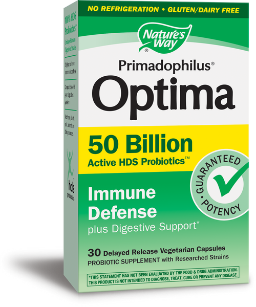 Primadophilus Optima 50 Billion Immune Defense