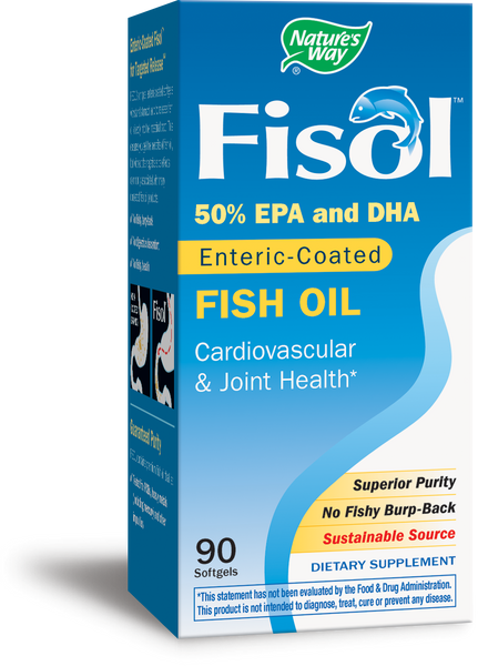 Fisol 50%EPA/DHA Enteric Coated Fish Oil