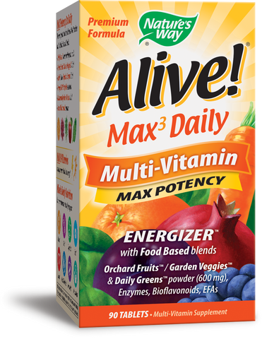 Alive! Whole Food Energizer Max Potency Multivitamin