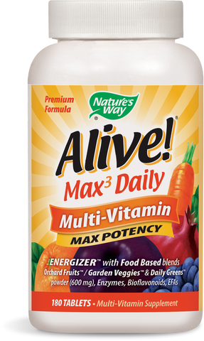Alive! Max3 Daily Max Potency Multivitamin