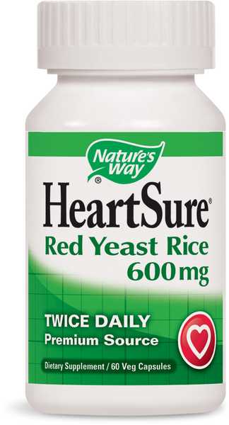 HeartSure - Red Yeast Rice 600 mg