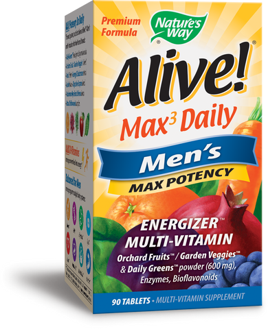 Alive! Max Potency Men's Multivitamin