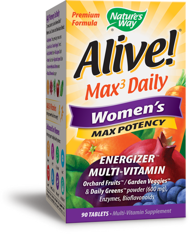 Alive! Max Potency Women's Multivitamin