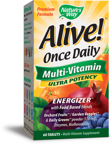 Alive! Once Daily Multivitamin Ultra Potency