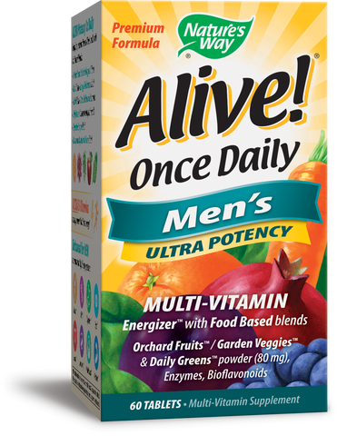 Alive! Once Daily Men's Ultra Potency Multivitamin