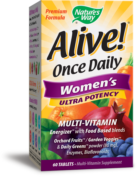 Alive! Once Daily Ultra Potency Women's Multivitamin