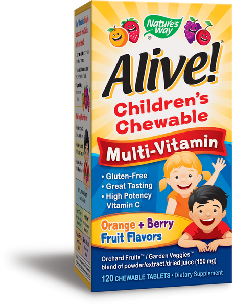 Alive! Children's Chewable Multi-Vitamin