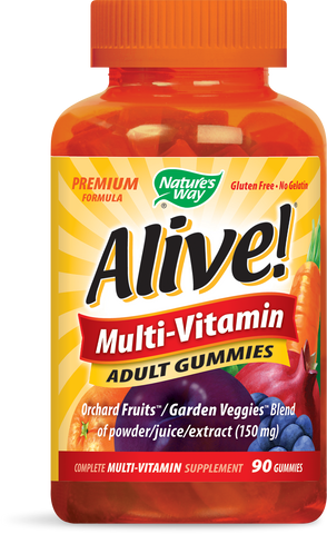 Alive! Adult Gummies Multivitamin