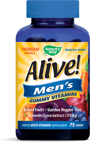 Alive! Men's Gummy Vitamins