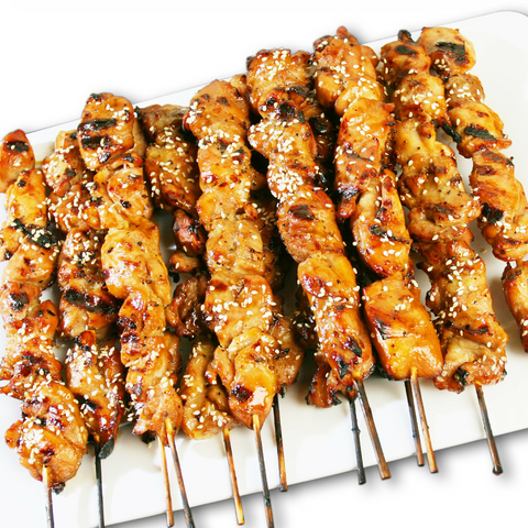 Teriyaki Chicken Stick: Party Tray - Starting 10 pieces +