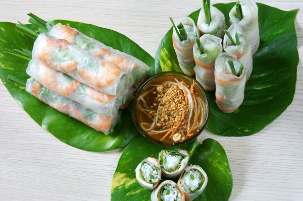 Vietnamese Spring Rolls (Shrimp only): Party Tray - Starting 15 pieces +
