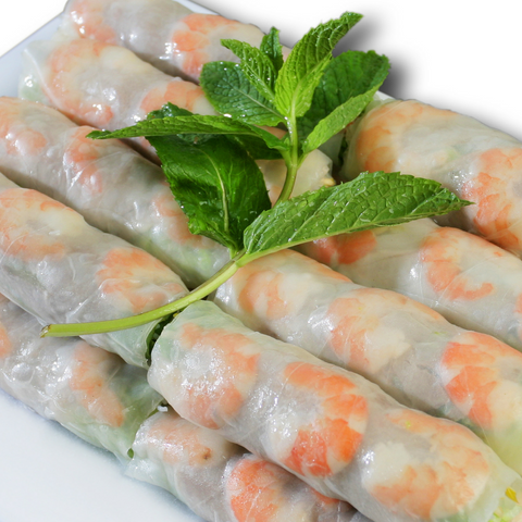 Shrimp & Pork Spring Rolls (2 pieces)