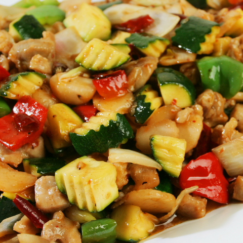 Kung Pao Chicken: Party Tray - Starting Medium Tray +