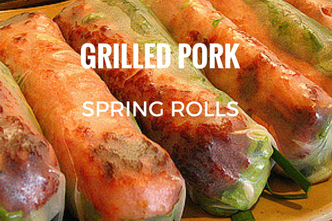 Grilled Pork Spring Rolls (2 pieces)