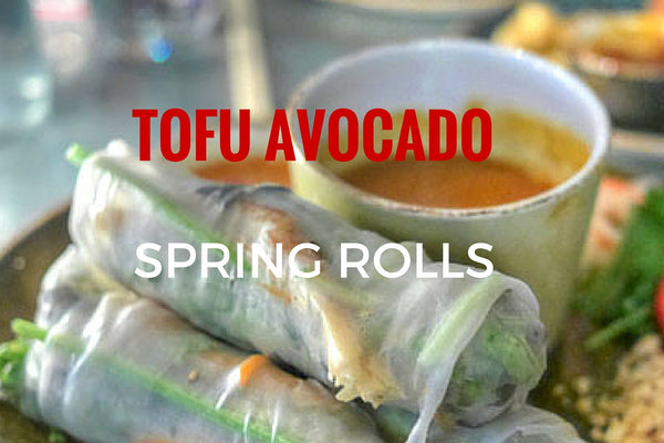 Tofu Avocado Spring Rolls (2 pieces)