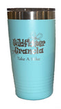 Wildflower Granola 20oz  Stainless Steel Tumbler