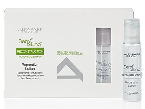 Alfaparf Semi Di Lino Reconstruction Reparative Lotion 6 x 13 ml