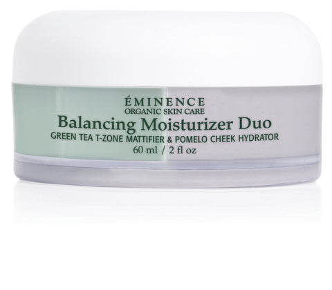 Eminence Organics Balancing Moisturizer Duo - T-Zone & Cheek NEW 2 oz