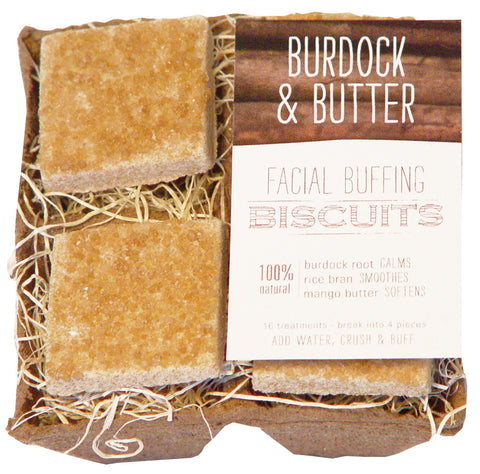 Farmhouse Fresh Burdock & Butter Facial Buffing Biscuits NEW