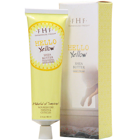Farmhouse Fresh Shea Butter Hand Cream - Hello Yellow
