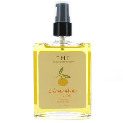 Farmhouse Fresh Clementine Body Oil & Soak 4 oz