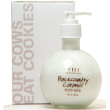 Farmhouse Fresh Body Milk Lotion - Backcountry Caramel Pump - skinsheeky