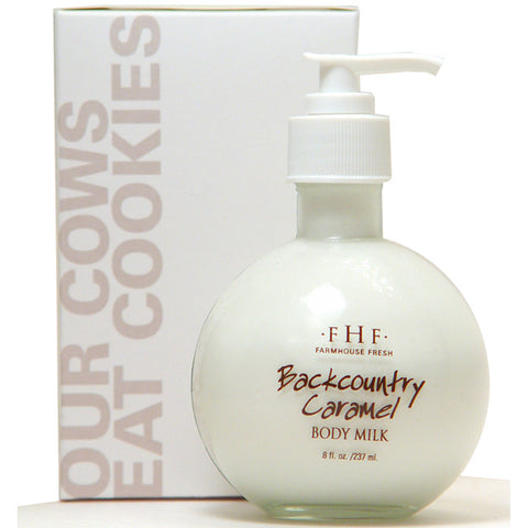 Farmhouse Fresh Body Milk Lotion - Backcountry Caramel Pump
