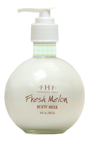 Farmhouse Fresh Body Milk Lotion - Fresh Melon Pump NEW