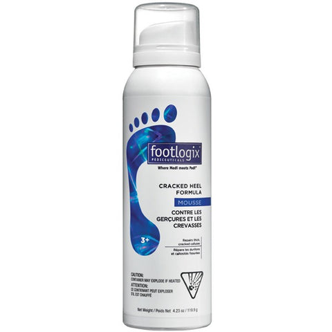 Footlogix Cracked Heel Formula Mousse 3+ 4.2 oz