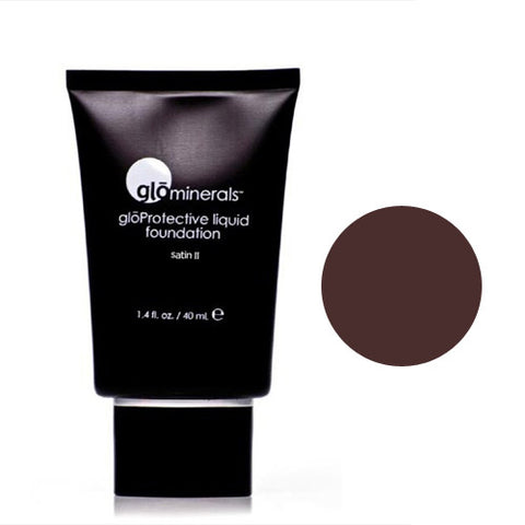 glominerals gloProtective Liquid Foundation Satin II